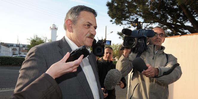 René Marratier, maire de La Faute-sur-Mer, le 13 avril.