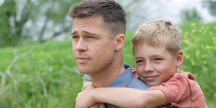 Brad Pitt dans le film américain de Terrence Malick,