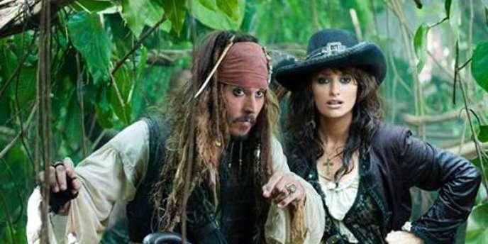 """Pirates des Caraïbes : la fontaine de jouvence"""" : Jack Sparrow ..."""