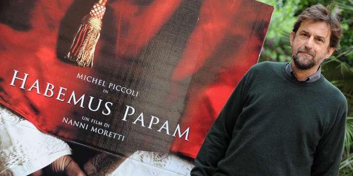Le réalisateur italien Nanni Moretti lors de la présentation de son film