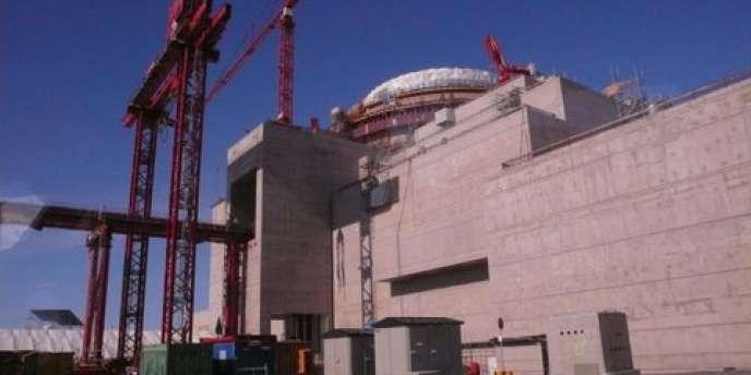 Chantier du réacteur EPR, OL3, en Finlande.