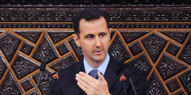 Bachar Al-Assad est pour l'instant épargné par les sanctions européennes à l'égard du régime syrien.
