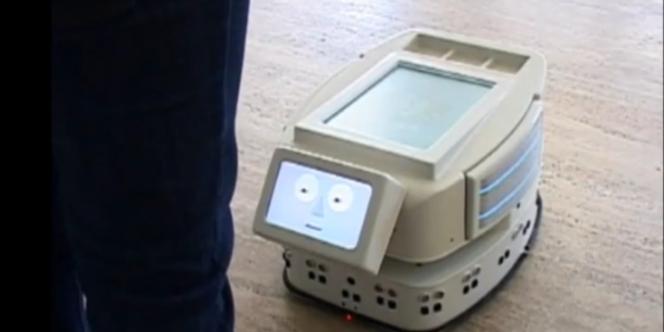 Iromec, un robot conçu pour jouer avec des enfants autistes.