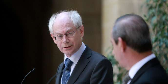 Herman Van Rompuy, le 13 avril 2011 à Valletta.