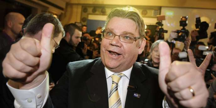 Timo Soini, leader des Vrais Finlandais.