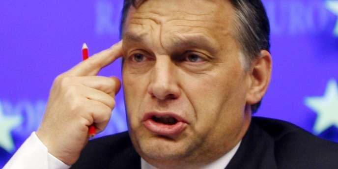 Le premier ministre hongrois, Viktor Orban, a déclaré notamment :