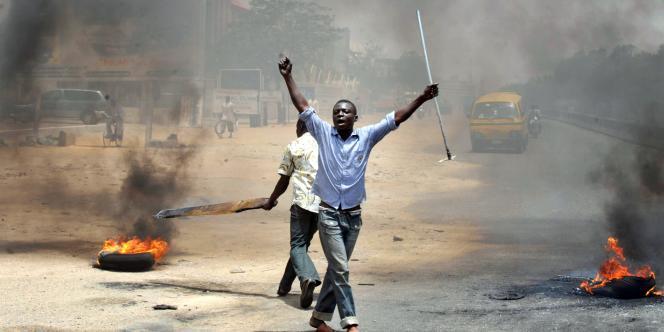 Des émeutes à Kano le 18 avril.