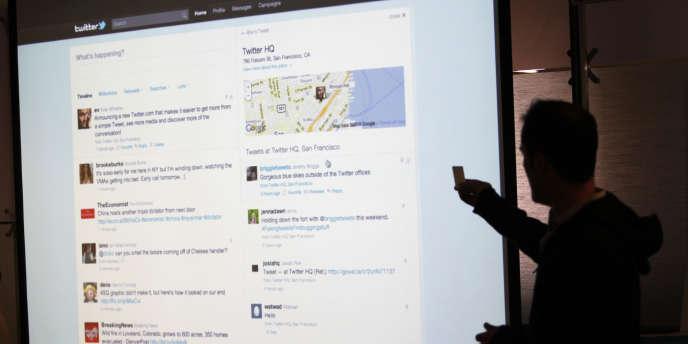 Evan Williams, co-fondateur de Twitter, en septembre à San Francisco.