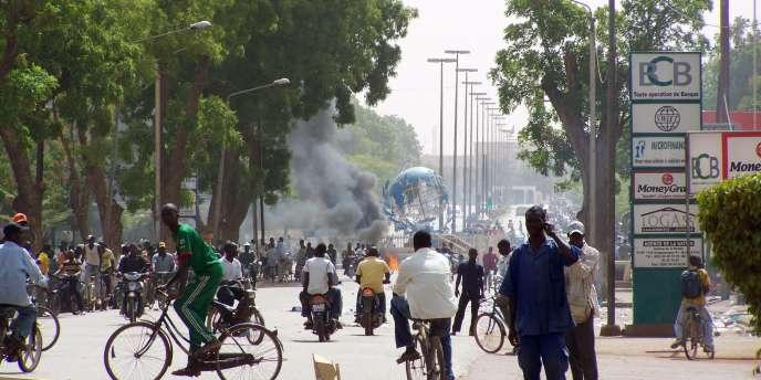 A Ouagadougou, la capitale du Burkina Faso, les pillages se sont multipliés ces dernières semaines.