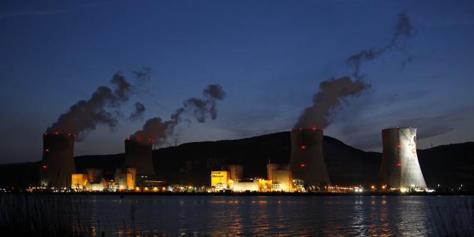 Vue de la centrale de Cruas, en Ardèche, le 19 avril 2011.