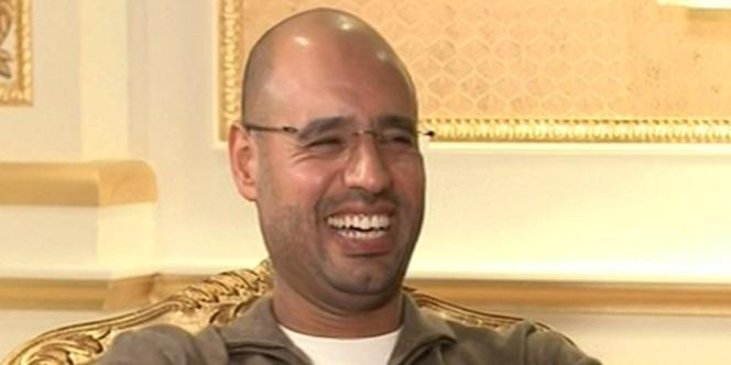 Saïf Al-Islam, fils de Mouammar Kadhafi, est intervenu, mardi 19 avril, sur sa chaîne, Allibya.