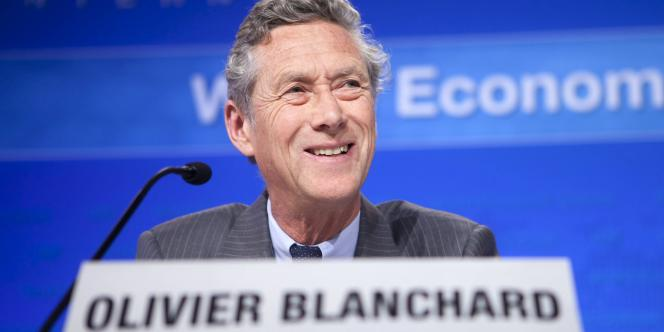 Olivier Blanchard, économiste en chef du Fonds monétaire international.