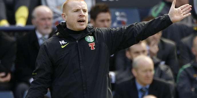 Neil Lennon, entraîneur du Celtic Glasgow, le 17 avril à Hampden Park.