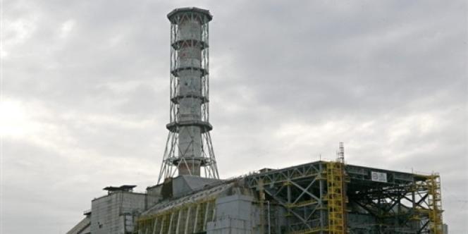 Vue de la centrale nucléaire de Tchernobyl, le 17 septembre 2007.