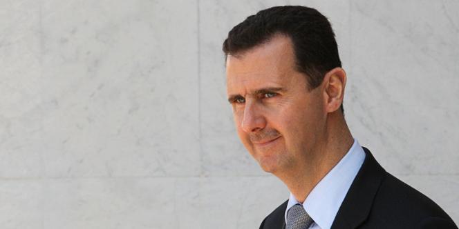Le président syrien Bachar Al-Assad, en mars 2009.
