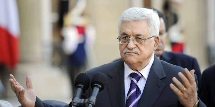 Mahmoud Abbas, le président de l'Autorité palestinienne, le 21 avril 2011 à Paris.