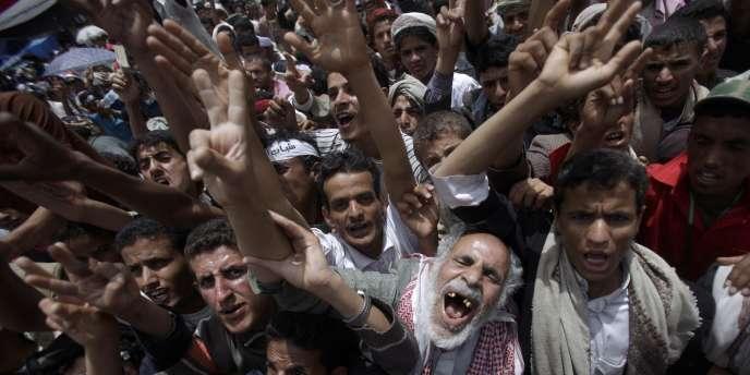 Dans la capitale yéménite, Sanaa, le 23 avril.