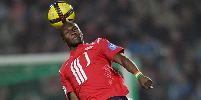 Moussa Sow face à Bordeaux le 16 avril.