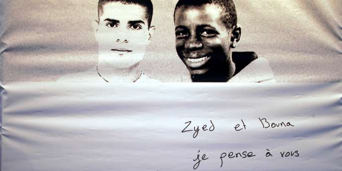 Zyed, 17 ans, et Bouna, 15 ans, sont morts électrocutés dans un transformateur EDF le 27 octobre 2005 alors qu'ils étaient poursuivis par des policiers.