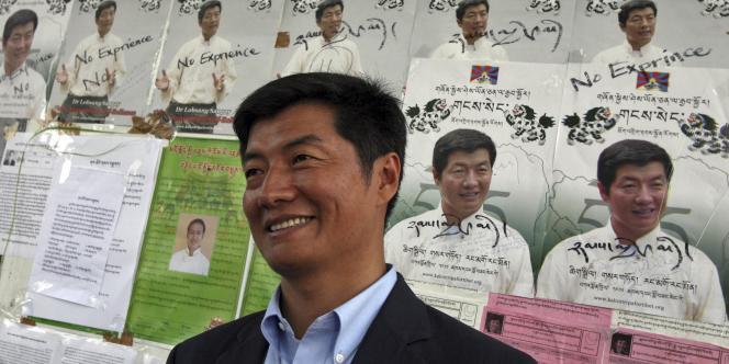 Lobsang Sangay a été déclaré vainqueur du scrutin par la Commission électorale de l'administration centrale du Tibet et il dirigera le gouvernement en exil.