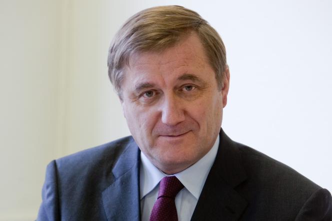 Laurent Batsch, président de l'université Paris-Dauphine.