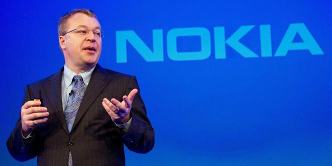 Stephen Elop est le PDG de Nokia depuis septembre 2010.