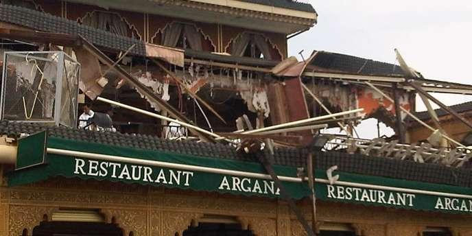 L'attentat à la bombe dans un café du centre de Marrakech le 28 avril a fait 17 morts, dont onze Français et trois Suisses.