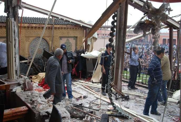 L'attentat du jeudi 28 avril à Marrakech a fait dix-sept morts, dont huit Français.