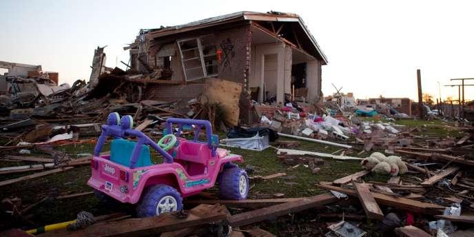 La ville de Tuscaloosa, dans l'Alabama, a été l'une des plus touchée par les tornades qui ont frappé le sud des Etats-Unis.