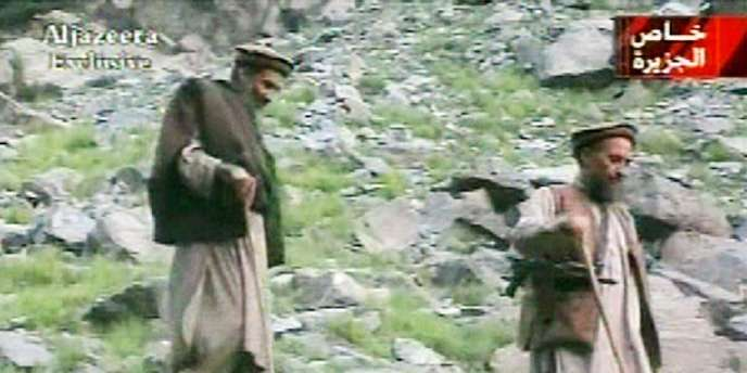 Oussama Ben Laden et Ayman Al-Zawahri, en 2003.