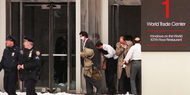 Evacuation du World Trade Centre, le 26 février 1993.