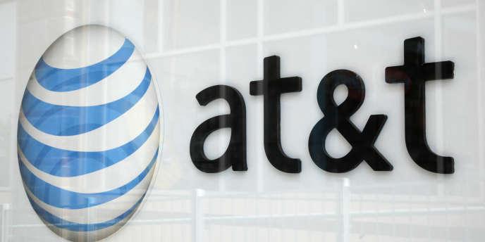 Le logo d'AT&T.