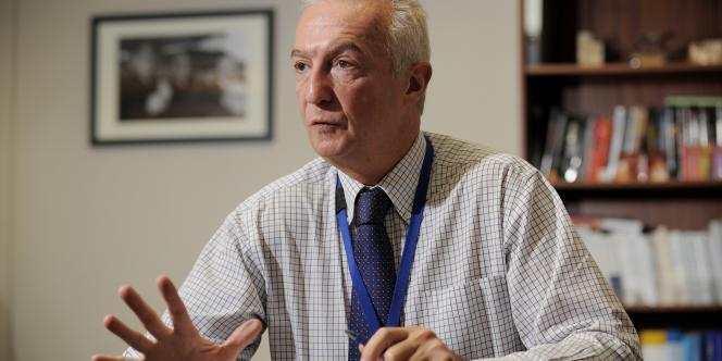 Le coordinateur de la politique antiterroriste de l'Union européenne, Gilles de Kerchove, le 18 octobre 2010.