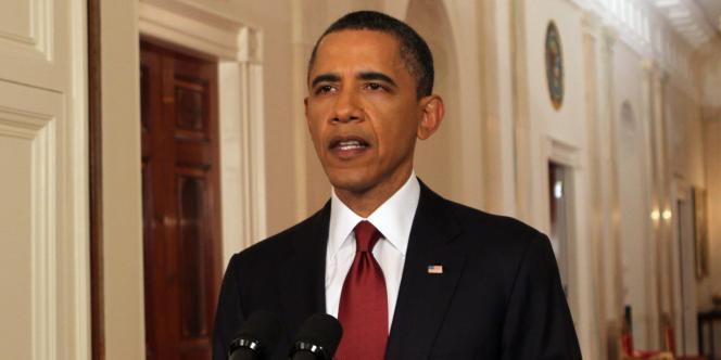 Barack Obama, le 1er mai, à Washington.
