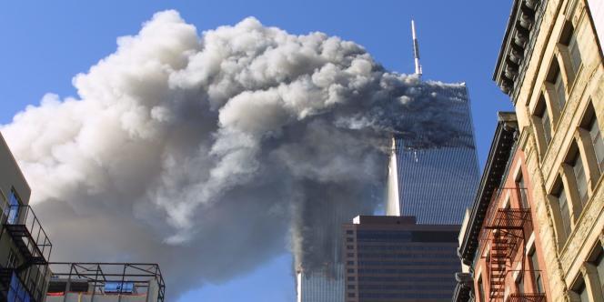 Les tours du World Trade Center à New York, le 11 septembre 2001.