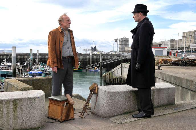 André Wilms et Jean-Pierre Darroussin dans le film finlandais d'Aki Kaurismäki,