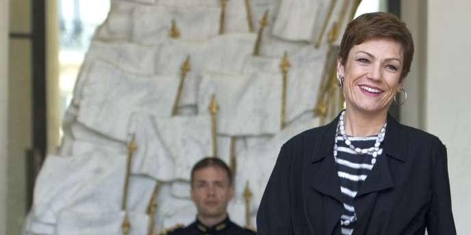 Chantal Jouanno, le 20 avril à Paris.