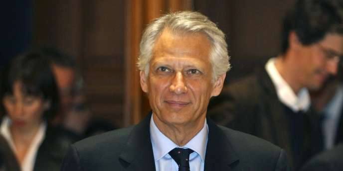 Dominique de Villepin, le 2 mai 2011.