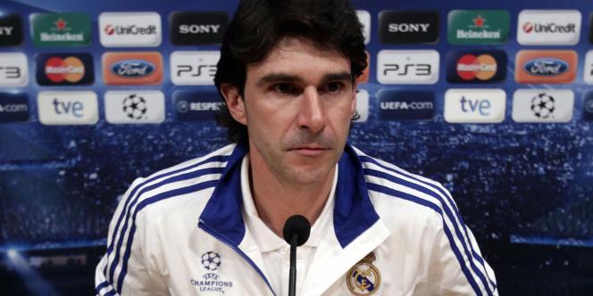 Aitor Karanka, le 2 mai à Barcelone.