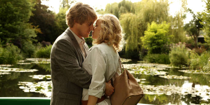 Owen Wilson et Rachel McAdams dans le film américain de Woody Allen,