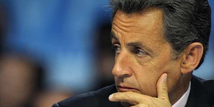 Nicolas Sarkozy, à Gravelines le 3 mai.