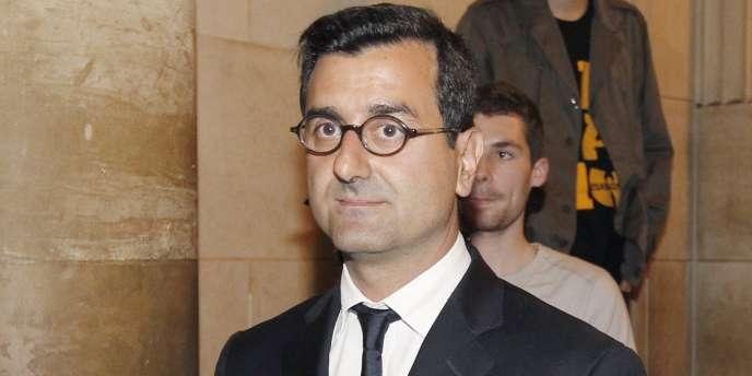 Imad Lahoud, au palais de justice de Paris, le 2 mai 2011.