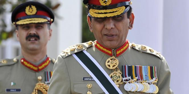 Le général Ashfaq Kayani, chefs des armées du Pakistan.