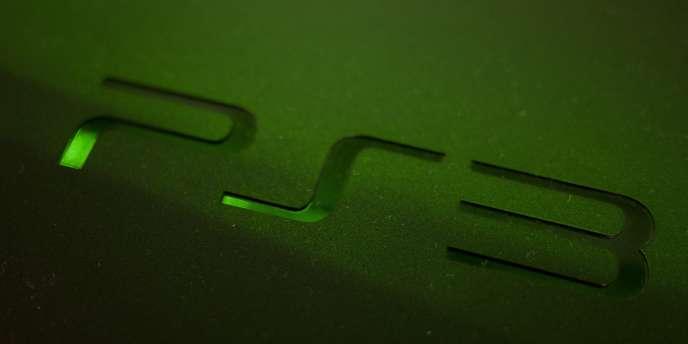Le logo de la PlayStation 3 de Sony.