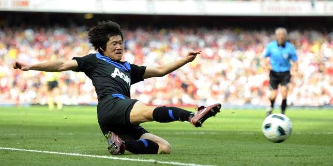 Park Ji-sung, le 1er mai à Londres.