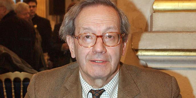 Bernard Stasi, en 2005.