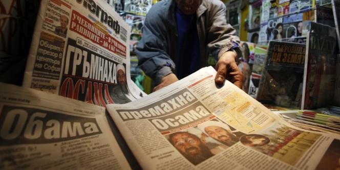 Un journal bulgare publie en première page une fausse photographie du cadavre de Ben Laden.