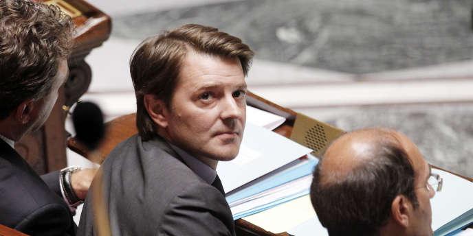 François Baroin, ministre de l'économie, à l'Assemblée nationale.