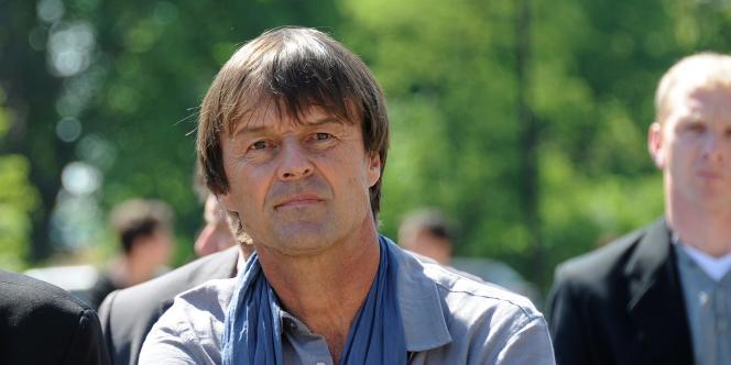 Nicolas Hulot à Loos-en-Gohelle, le 4 mai 2011.