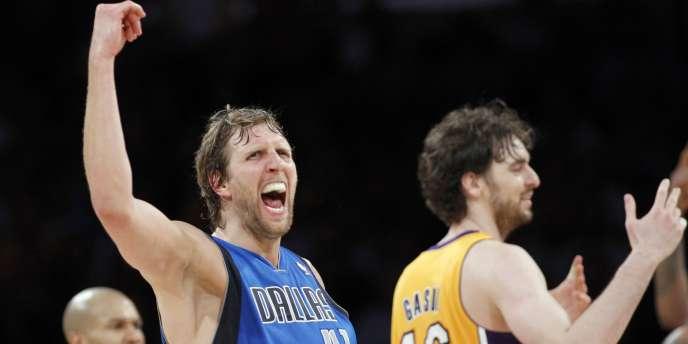Nowitzki et Dallas mène 2-0 et retournent au Texas pour clore la série contre les Lakers.